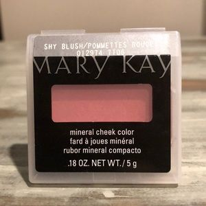 Mary Kay Shy Blush mineral cheek color